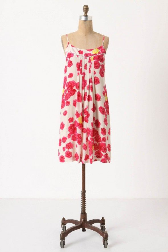 rose-print-bridesmaid-dress