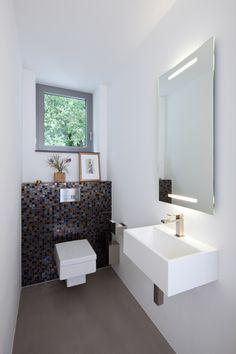Kleines Gäste Wc Modern Stil Für Gästetoilette …