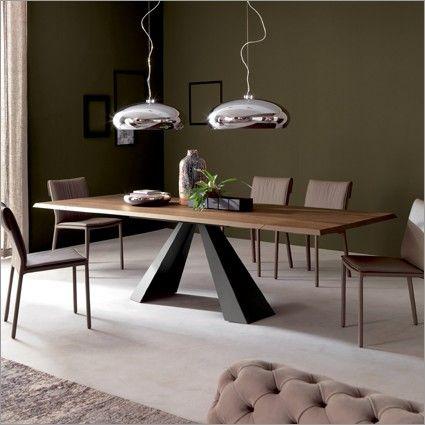 cattelan italia eliot wood drive extending dining table | dining table | cattelan italia | contemporary furniture