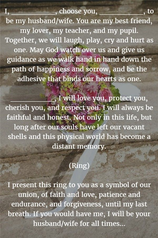 Top Best Best Wedding Vows Ideas On Pinterest Funny Vows