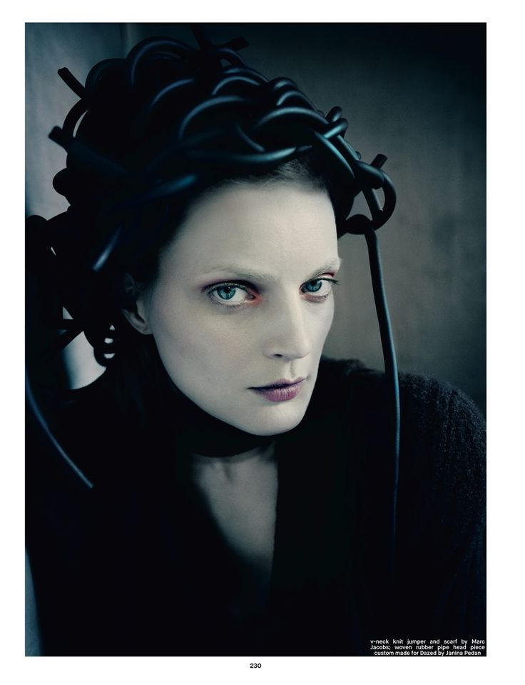 Pins Needles Guinevere Van Seenus By Paolo Roversi
