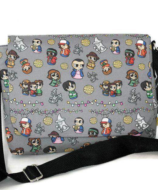 #Popculture bag - #strangerthings fabric bag