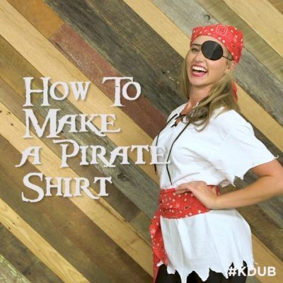 #KDUB How To :: Dress Like a Pirate For Very Little Booty