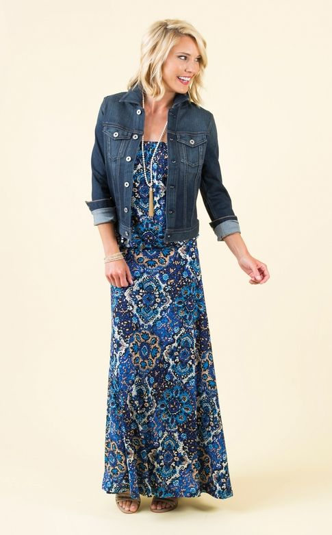 Medallion Tube Maxi | The #1 boutique for moms! $5 Flat Rate Shipping + FREE shipping on all orders over *$50. #Evereve