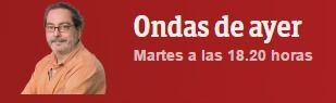 Antonio Buitrago de Ondas de ayer de Radio 5 www.rtve.es