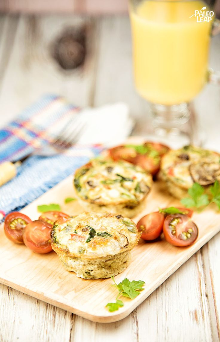 Egg And Vegetable Muffins - If you're having trouble getting breakfast ready before you run off to work or school, you need this recipe. (Paleo, Gluten Free, Whole30)