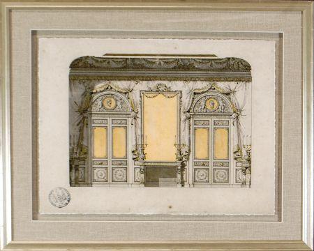 15285 - Interieurs pour le Duc D'Aumont IV