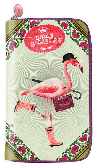 Flamingo Wallet - 29€. This is beyond awesome. Wish it was more bohemian, but it's still awesome!