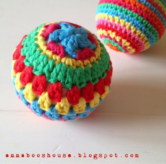 Crochet Stitches Esc : So I found a couple of polystyrene balls which Ive had in a box for ...
