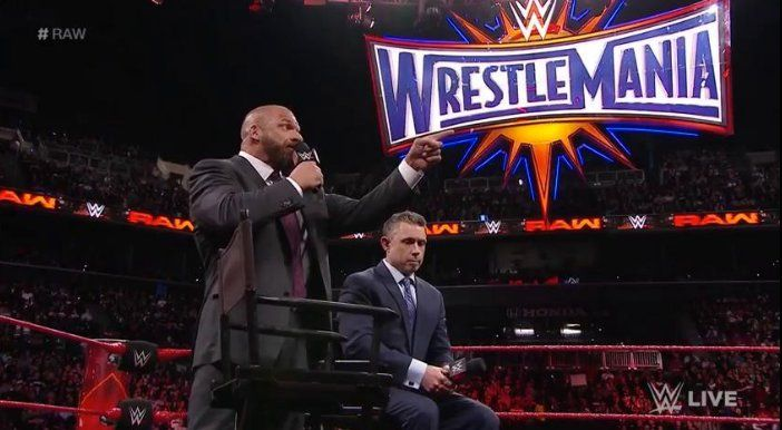 Triple H Challenges Seth Rollins To A Non-Sanctioned Match At WrestleMania