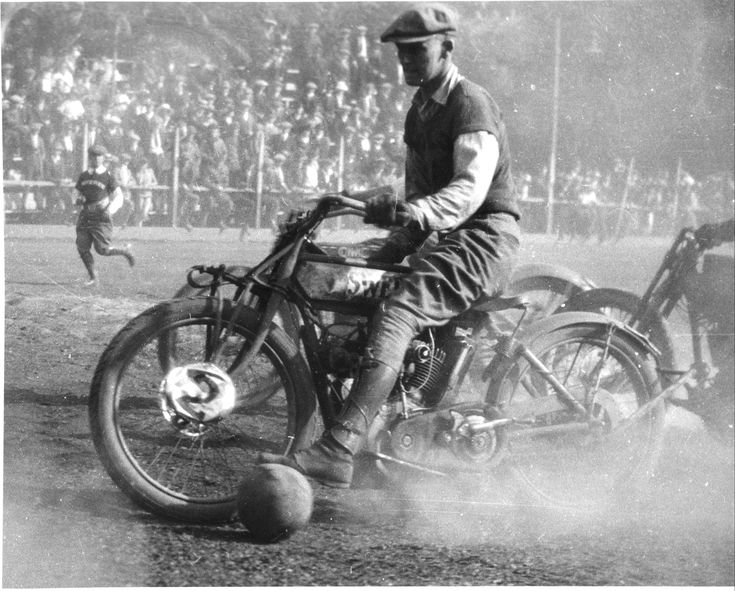 Motorcycle Polo 1919