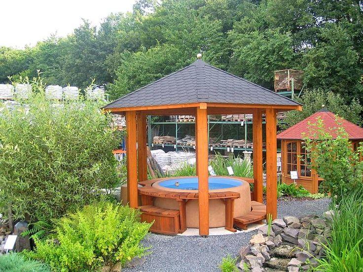 ideias sobre pavillon selber bauen no pinterest selber bauen. Black Bedroom Furniture Sets. Home Design Ideas
