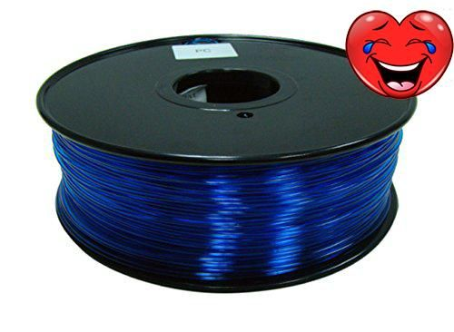 #robotics #HobbyKing 3D Printer Filament 1.75mm Polycarbonate or PC 1KG Spool ( Translucence Blue ) HobbyKing have come out with a huge new range of 3D Printer F...