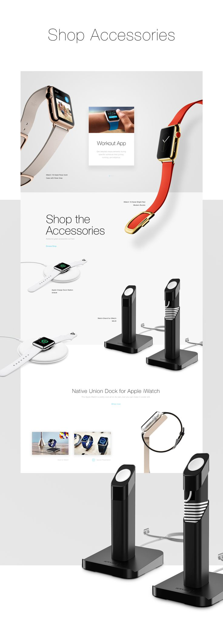 Apple Watch on Behance