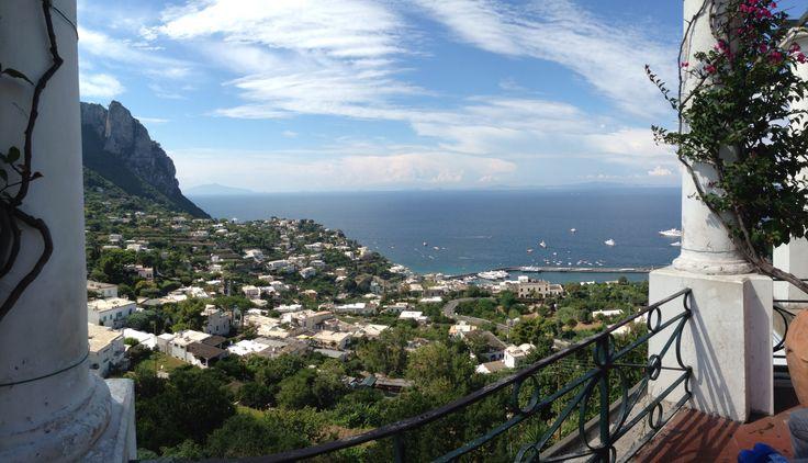 Capri, dalla piazzetta