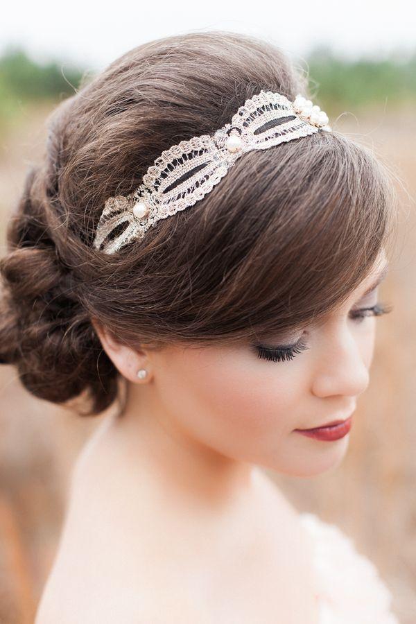 Elegant bridal hairstyle / KATSPHOTOS