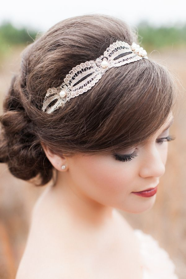 Elegant bridal hairstyle / KATSPHOTOS