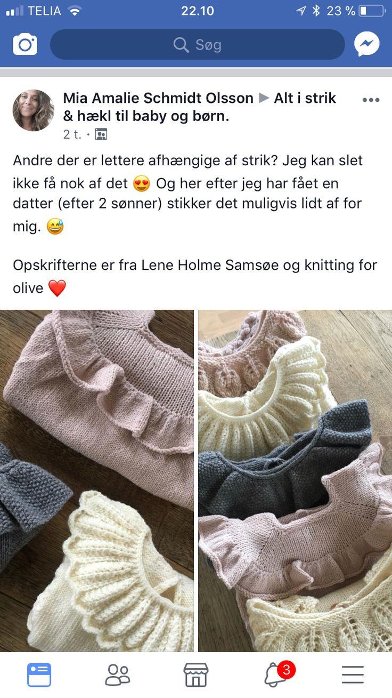 Mejores 7 imágenes de Strik og hækling en Pinterest | Tejidos de ...