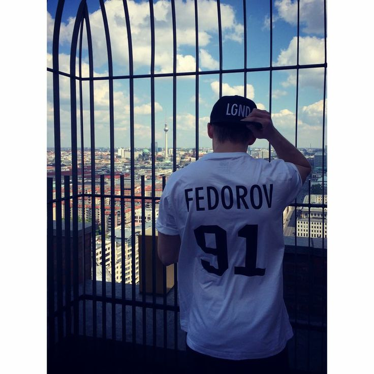 Germany, Berlin - Fedorov with a view.