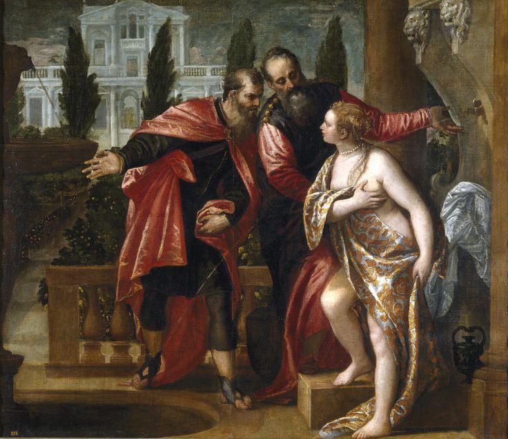 Véronèse, Suzanne et les Vieillards - Prado