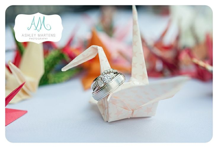 Origami Wedding | ashleymartensphotography.com