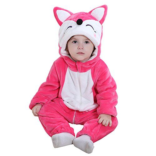 1677121d549 MerryJuly Unisex-Baby Animal Onesie Costume Cartoon Outfit Homewear  (100cm (18-24 Months)