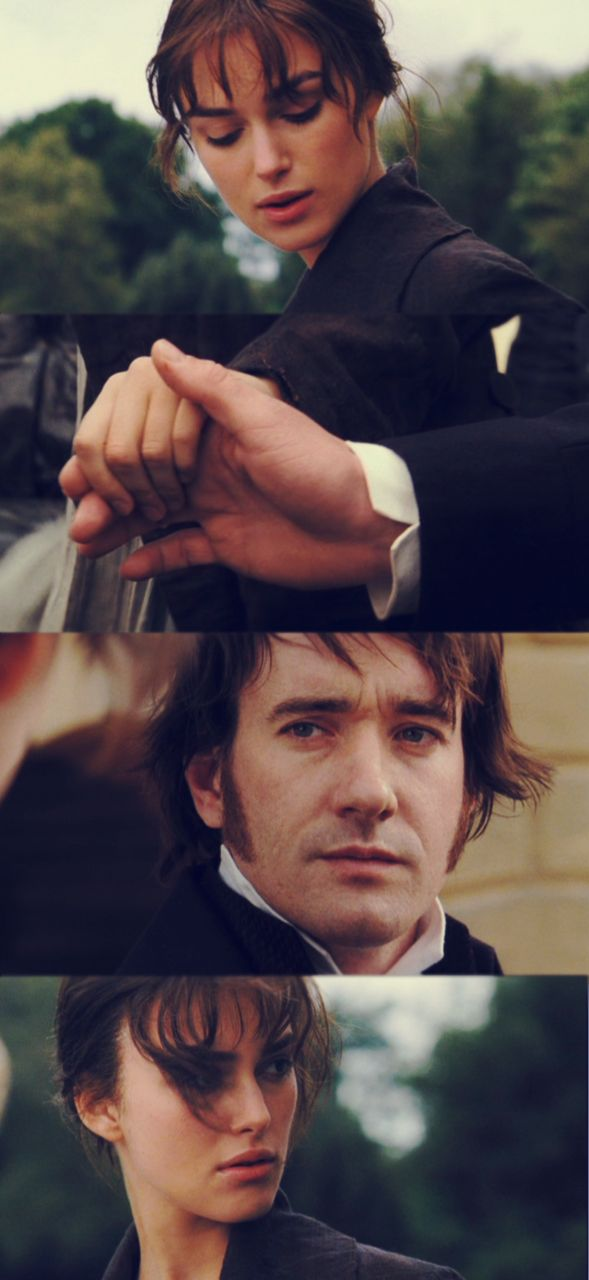 Matthew Macfadyen (Mr. Fitzwilliam Darcy) & Keira Knightley (Elizabeth Bennet) - Pride & Prejudice (2005) directed by Joe Wright #janeausten