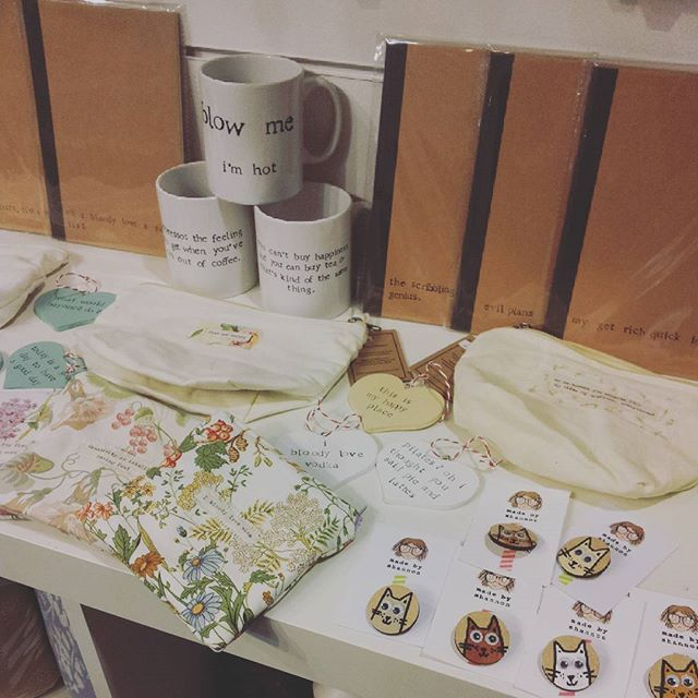 Lots of lovely things from #new supplier Made By Shannon! More pics soon!!