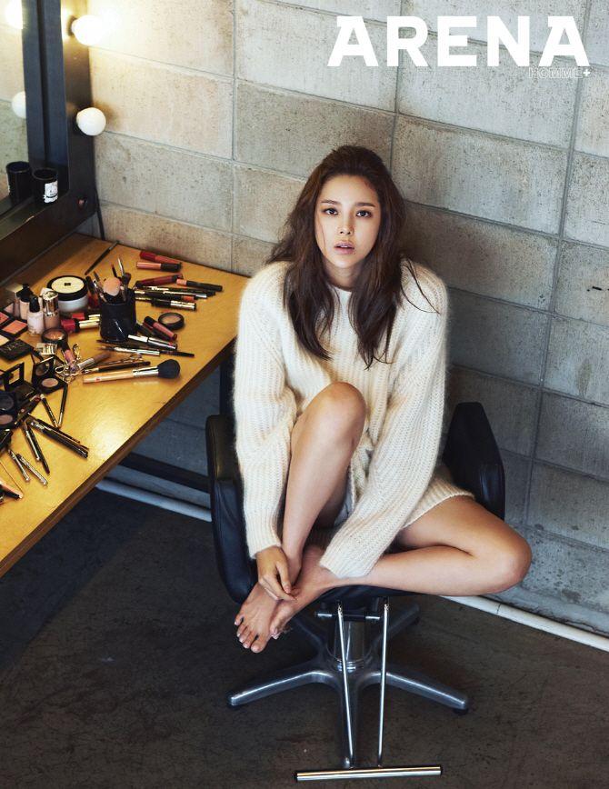 Park Si Yeon - Arena Homme Plus Magazine November Issue '14
