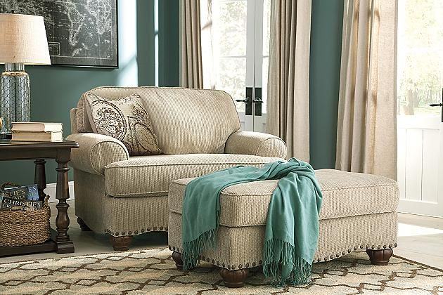 From Ashley Furniture: $599 Sisal Alma Bay Oversized Chair View 1
