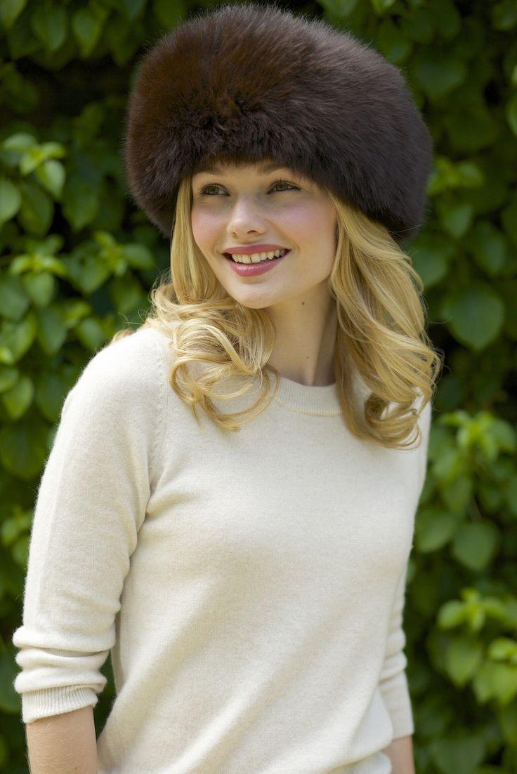 Sumac - Luxury Alpaca Fur Hat from www.lacorine.co.uk