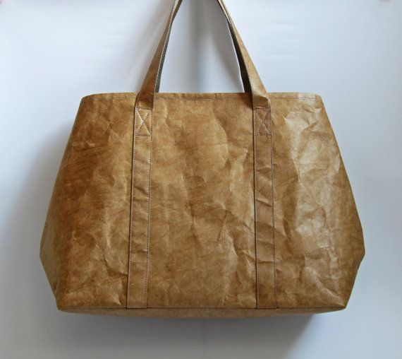 Lightweight Extra Large Tote Bag with Tyvek Paper