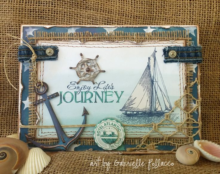 Nautical Card by Gabrielle Pollacco - Scrapbook.com