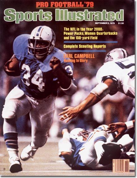 Earl Campbell, Football, Houston Oilers - 09.03.79 - SI Vault