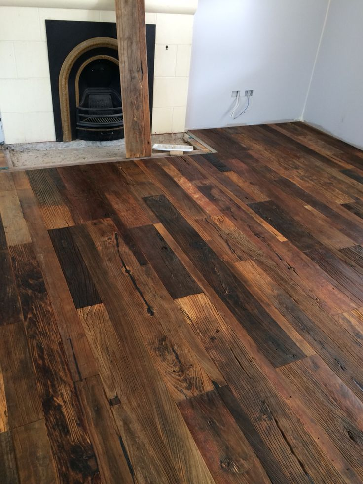 Russian Elm Recycled Flooring