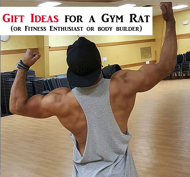 Gift Ideas for a Gym Rat or Fitness Enthusiast