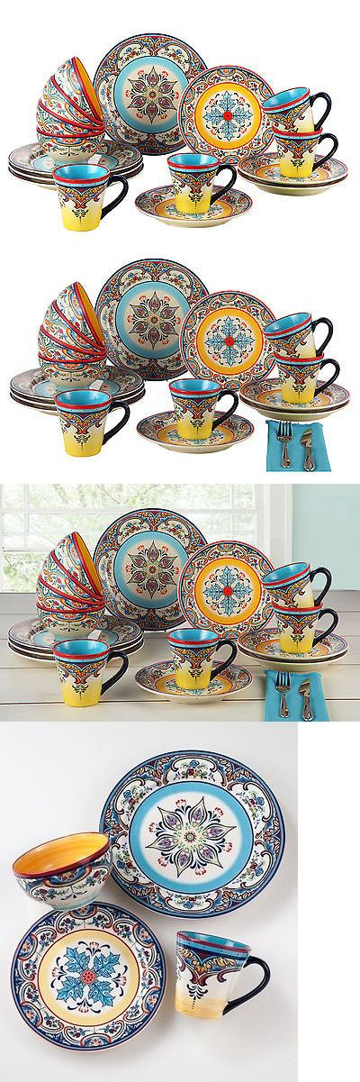 Dinner Service Sets 36032: Euroceramica Zanzibar 16 Piece Dinnerware Set -> BUY IT NOW ONLY: $82.99 on eBay!