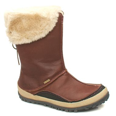 Merrell Oslo Never has battling the elements looked so stylish! Waterproof full grain leather boot from Merrell with thick synthetic fur lining and Polartec insulation A protective rubber rand brushes off impact.  http://www.comparestoreprices.co.uk/womens-shoes/merrell-oslo.asp