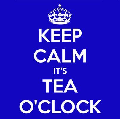 Keep calm, it's Tea O' Clock! Wat een leukerd! Hou je van thee kijk dan eens op de site www.theejoy.nl voor een mooie selectie van losse thee.