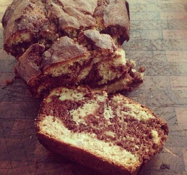 Here's an easy and delicious Banana & Nutella loaf recipe to help keep the kids busy this weekend!