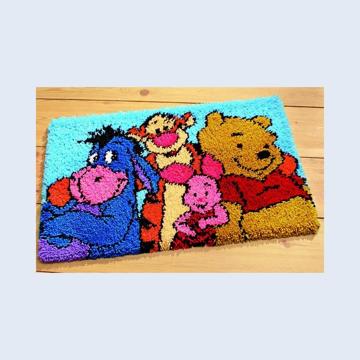 Latch Hooking Breigarens Disney Pooh And