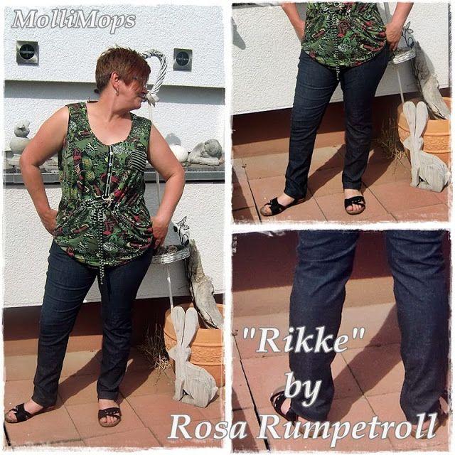 """Rosa Rumpetroll - Leben und Nähen in Norwegen: """"RIKKE"""" - MEINE NEUE JEANSLIEBE"""