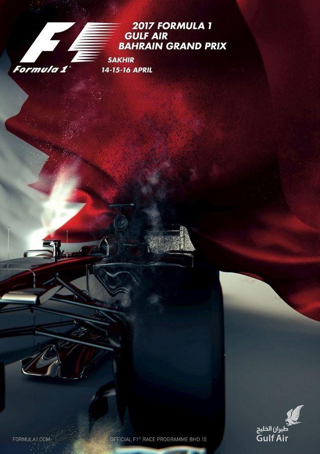 Billedresultat for bahrain grand prix 2017 posters