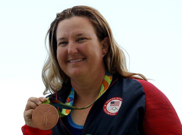 Medal - RHODE Kimberly - Shooting - United States - Skeet Women - Skeet Women's Bronze Medal Match - Olympic Shooting Centre