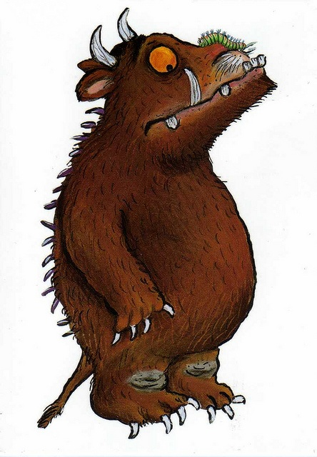 Axel Scheffler - The Gruffalo! This is one of my daughters favourite stories to tell her face lights up when I pull this book out.