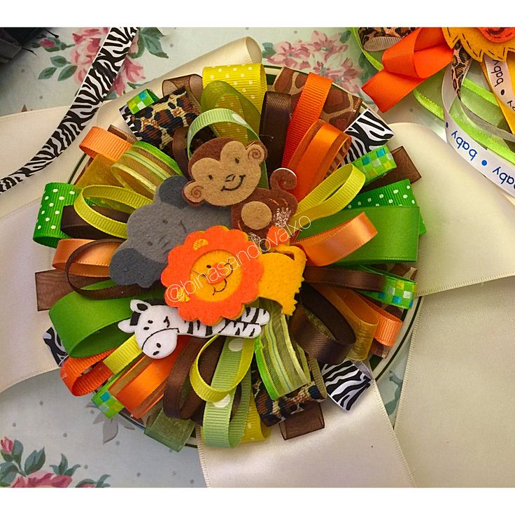 Safari Baby Shower Corsage: 8 Best Images About Ideas For A Sash On Pinterest
