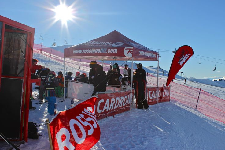Cardrona Kid's Cup kicking off on an absolute blue bird! #Rossignol