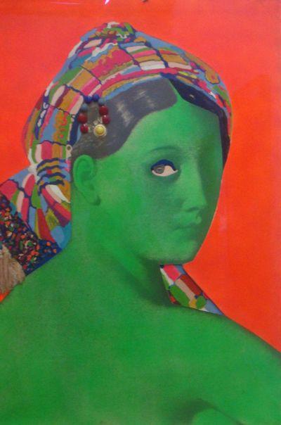 Martial Raysse (1936) La grande odalisque, 1964.