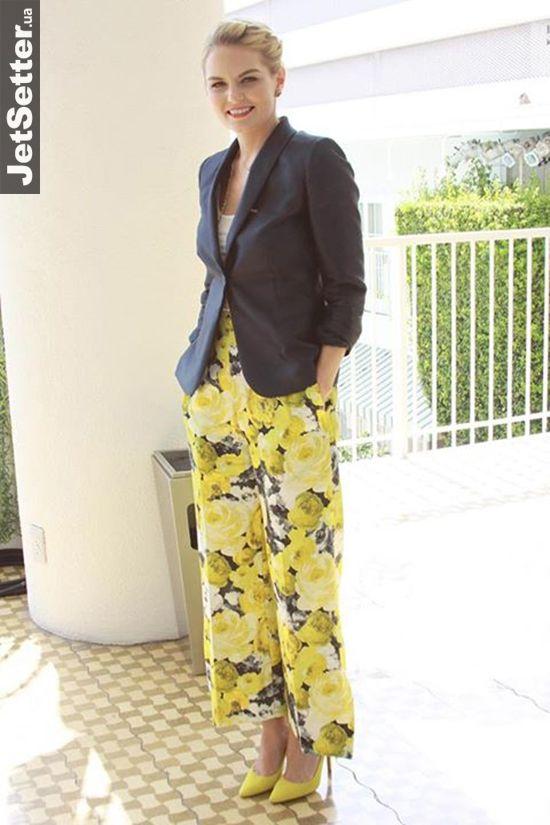 Мировые знаменитости в нарядах украинских дизайнеров    Дженнифер Моррисон