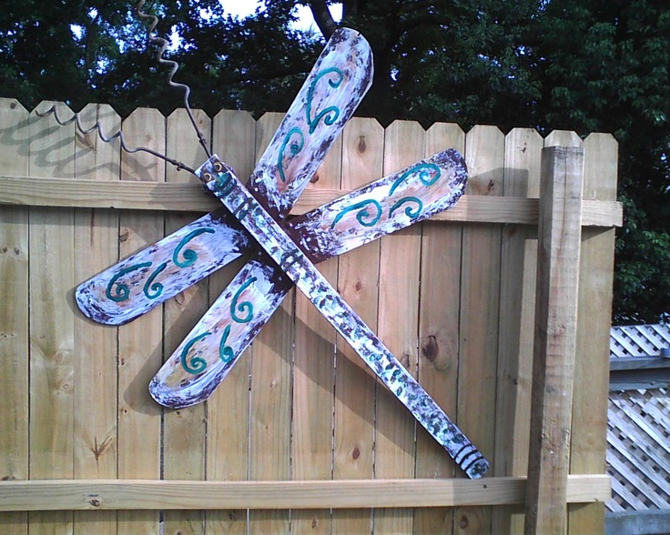 Dragonfly Made From Celling Fan Blades My Diy Project S